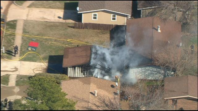 Firefighters Put Out House Fire In Southeast Norman