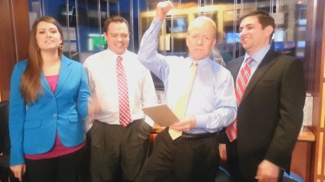 News 9 Weather Team Has Some Fun After Winter Storm Coverage