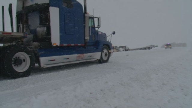 Road Conditions Still Treacherous In Panhandle, NW OK