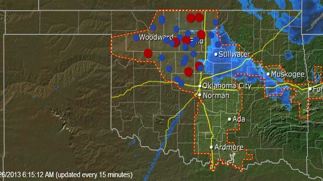 Thousands Of Oklahomans Still Without Power After Winter Storm