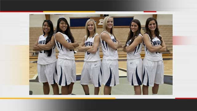 A Triple-Double: SWOSU Women's Basketball Team Features Three Sets Of Twins