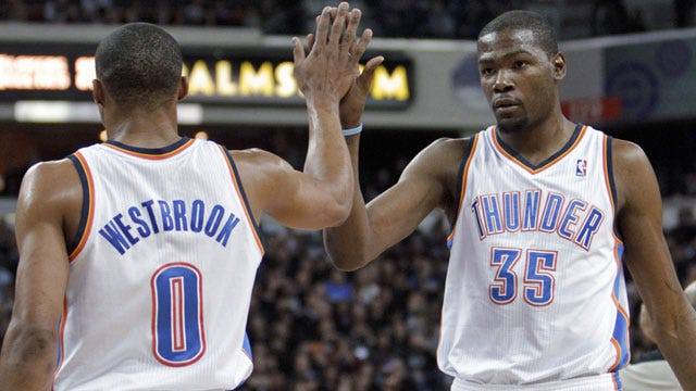 Durant, Westbrook Lead Thunder's Extermination Of Hornets