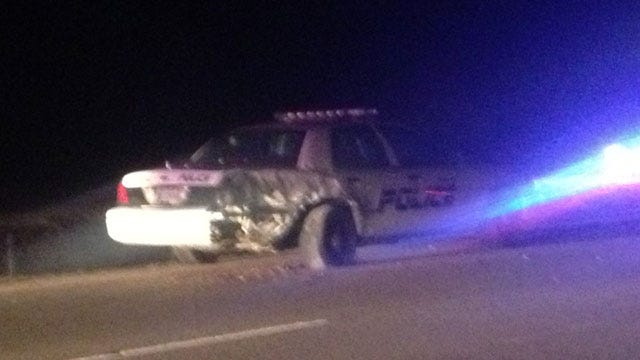 DUI Suspected After Police Officer, Tow Truck Driver Hit On I-40