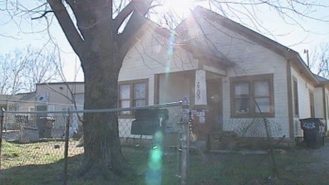 OKC Property Company Rents Home With No Walls, Floors