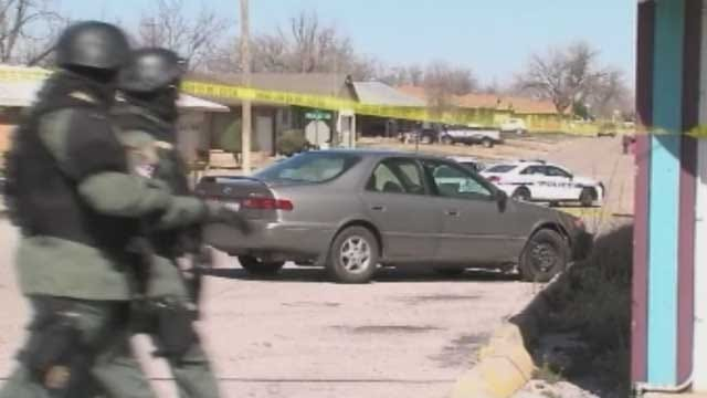 Suspect In Officer Involved Shooting Caught In Lawton
