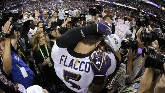 Flacco Leads Ravens Over 49ers In Super Bowl
