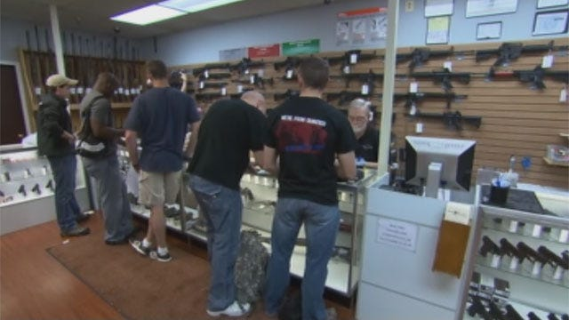 Gun License Applications Skyrocket In Oklahoma