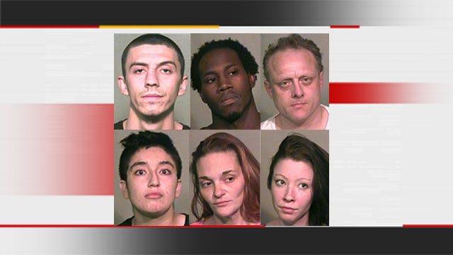 Oklahoma County Sheriff's Deputies Make 6 Arrests In Burglary Ring Bust