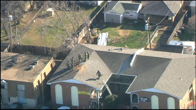 Firefighters Extinguish Fire At SW OKC Apartment Complex
