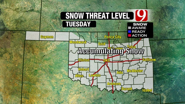 Double Trouble: Severe Storms And Snow