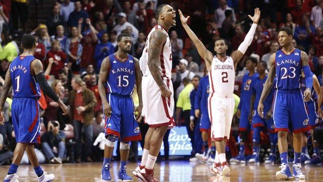 Sooners Upset Kansas, Snap 10-Game Losing Streak To Jayhawks