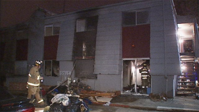Candle Causes Fire at NW OKC Apartment