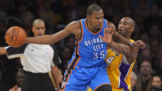 Durant, Thunder Hammers Lakers In L.A.