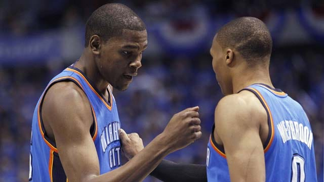Durant, Westbrook Combine For 77 Points To Sink Suns