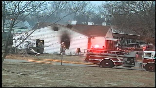 Fire Damages Del City Home