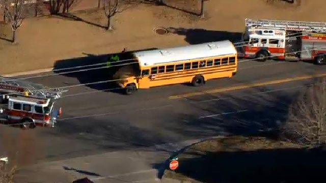 School Bus Accident In Southwest OKC, Children Safe