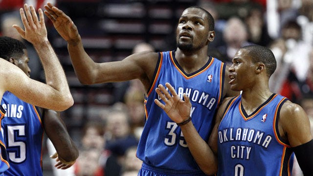 Thunder Overcomes Obstacles To Beat Portland