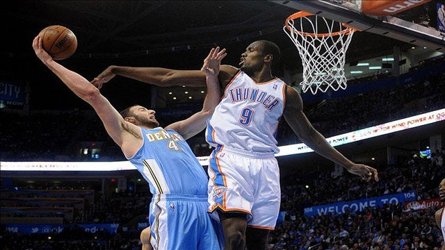 Thunder Uses Balanced Effort To Blow Out Denver