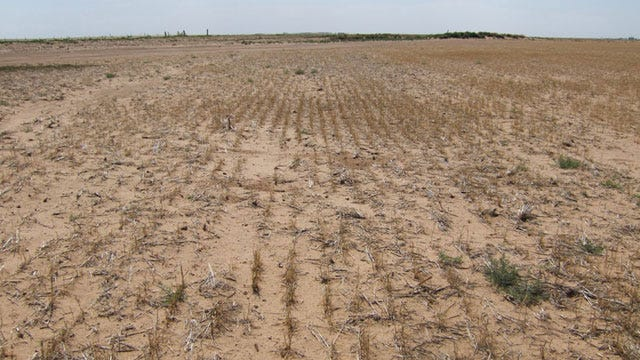 Drought Forces Mandatory Water Restrictions For OKC, Surrounding Cities