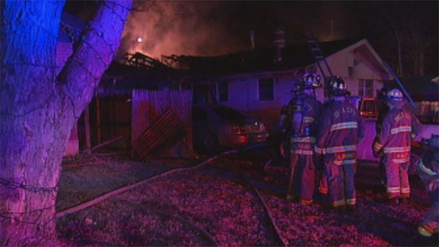 Dryer Likely Sparked Fire In NW OKC Home