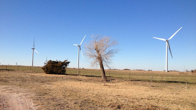 Virginia-Based Energy Company Looking to Build Large Wind Farm In OK