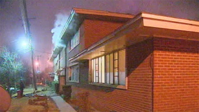 Women Help Rescue Residents From NW OKC Apartment Fire