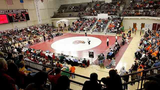 OU Wrestling Wins On Senior Day