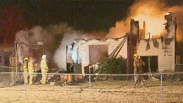 Flames Rekindle Overnight At Nicoma Park Home
