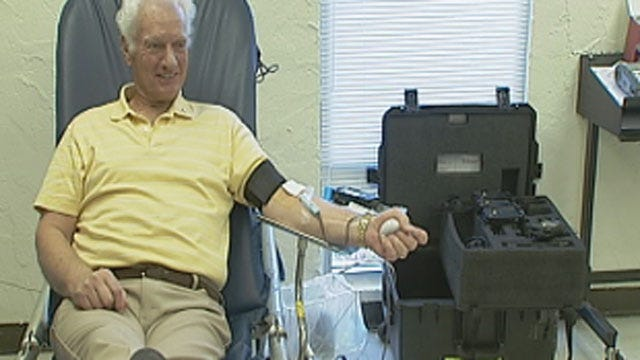 Norman Man Makes 280th Blood Donation