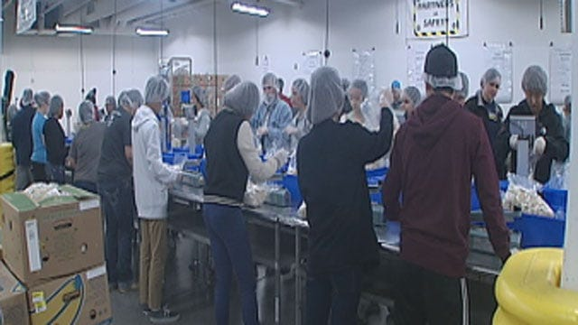 UCO Students Honor MLK Day By Helping Needy Oklahomans