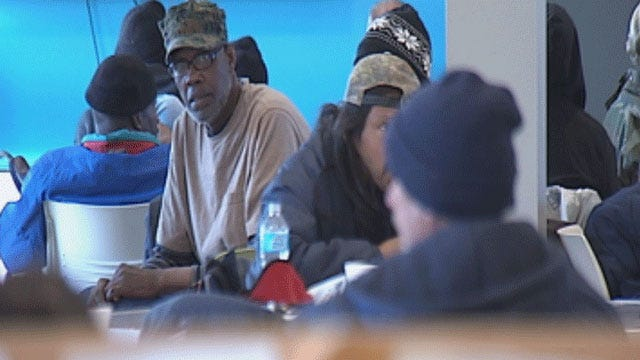 Volunteers Help The Homeless Find Permanent Homes In OKC
