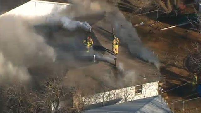 Crews Extinguish House Fire In Southwest OKC