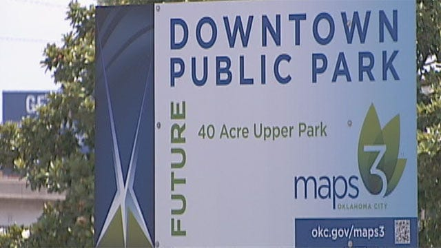 Public Invited To Review MAPS 3 Park Draft Master Plan