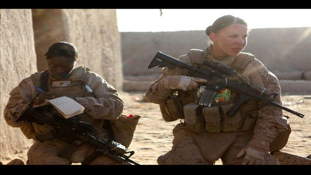 Female Soldiers In OKC React To Pentagon Decision On Women In Combat