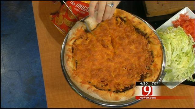 Frito Chili Pie Pizza
