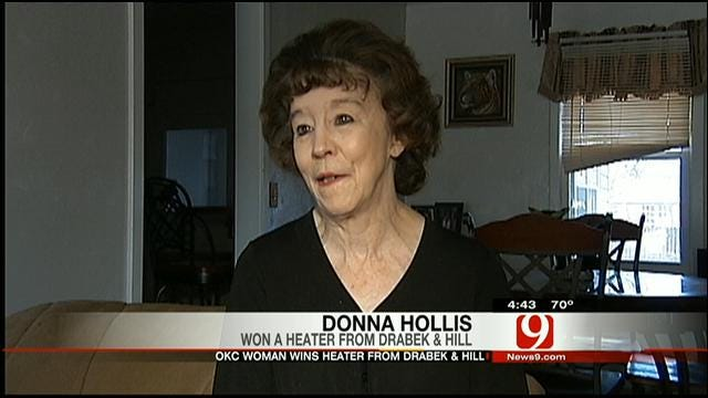 Heating Hearts: Donna Hollis Get A New Heater