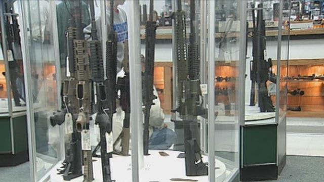 Tension On Gun Control Hitting Some Oklahomans In The Wallet