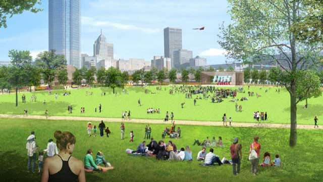 Public Invited To Review OKC Downtown Park Draft Master Plan