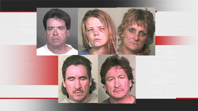 Charges Filed Against 5 Suspects In SE OKC Home Invasion