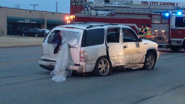 High-Speed Police Pursuit Ends In Arrests, Crash In Del City