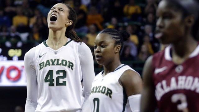 No. 1 Baylor Asserts Dominance Inside In Win Over Sooners