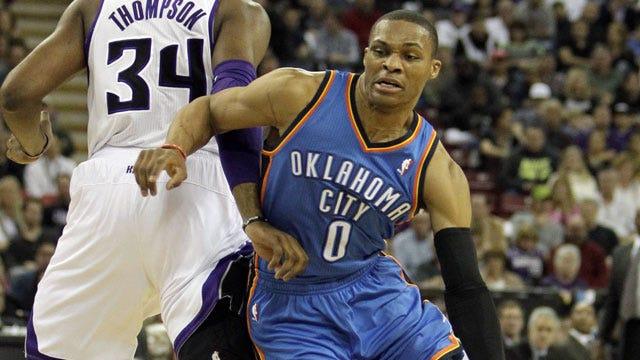 Westbrook's Passing Keys Thunder Romp In Sacramento