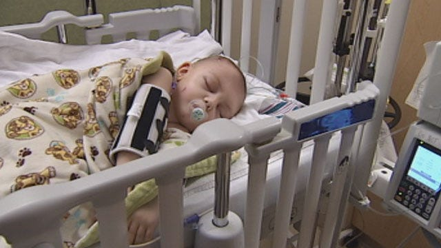 Family of 2-year-old Facing 22nd Brain Surgery Talks to News 9