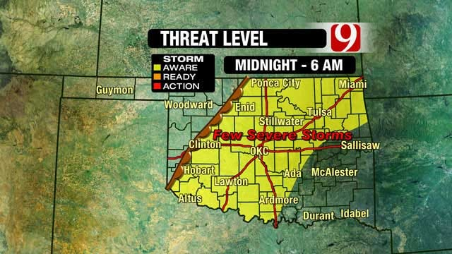 News 9 Weather Team Updates On Possible Severe Weather Overnight