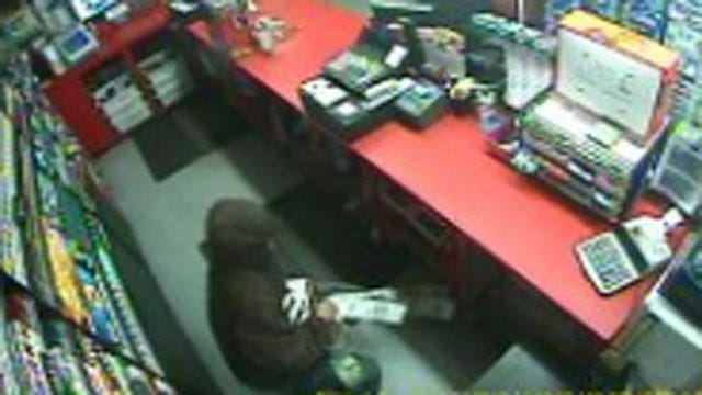 Bandit Burglarizes Cushing Convenience Store