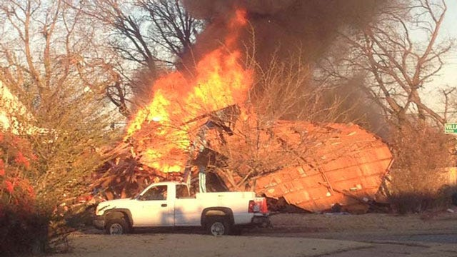 Evacuated OKC Residents React To Natural Gas Explosion