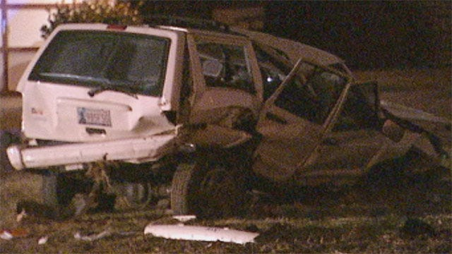 Drivers Chase Each Other, Crash In NW OKC