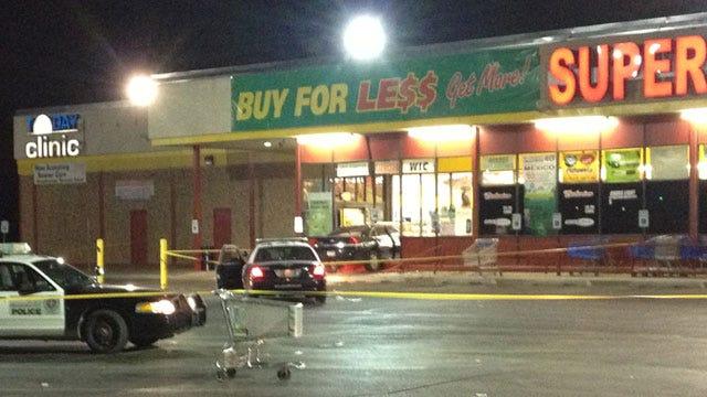 Car Strikes Woman, Crashes Into SW OKC Grocery Store