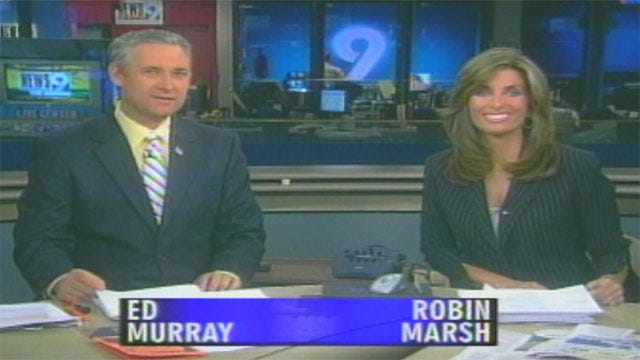 News 9 This Morning Celebrates Robin's Move To News 9 At Four