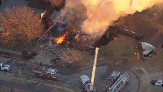 OKC Woman Was Baking Cookies When Her House Exploded